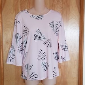 Ann Taylor Factory Bell Sleeve Blouse Small NWT